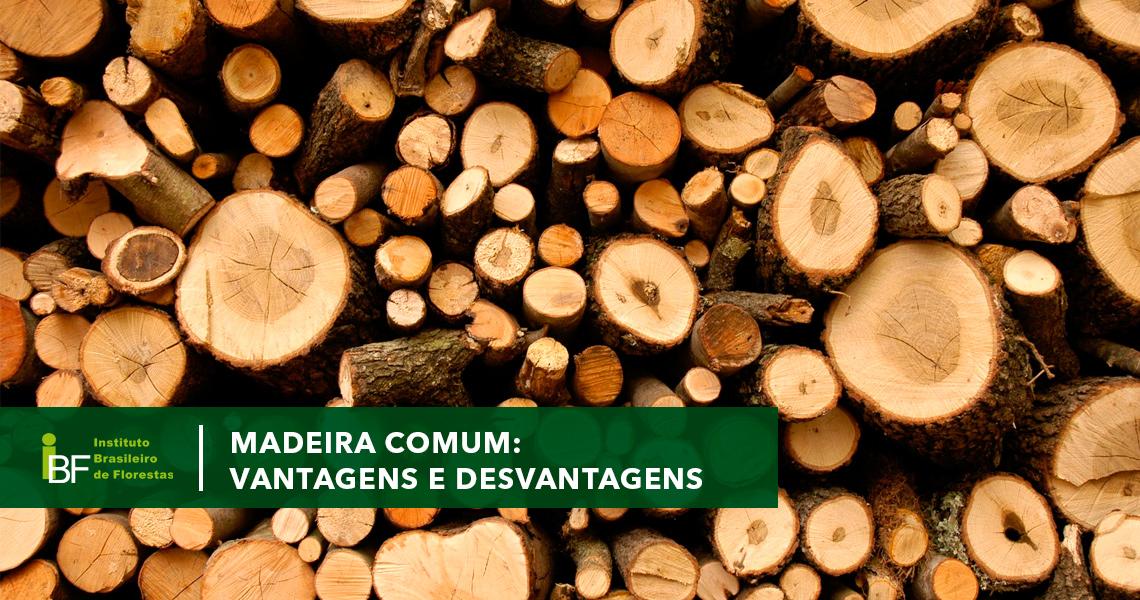 Madeira comum: vantagens e desvantagens